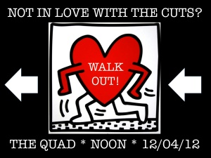 Not in love with the cuts? Walk out!