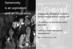 Generosity/NYT student loan story