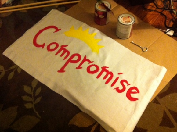 painting compromise mural